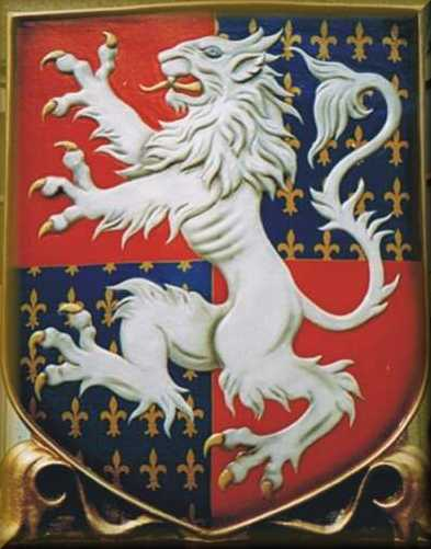 Pub Sign - White Lion in GRP